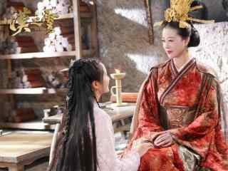 轩辕剑之汉之云剧照顾雨湘和耶亚希桌面壁纸