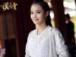 轩辕剑之汉之云剧照横艾白色裙子桌面壁纸