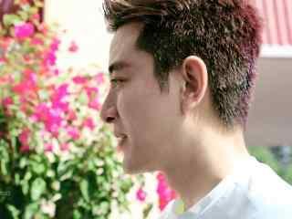 综艺节目看你往哪跑杭州站贾乃亮侧脸桌面壁纸
