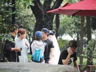 综艺节目看你往哪跑杭州站徐海乔和张继科讨论如何跳舞桌面壁纸