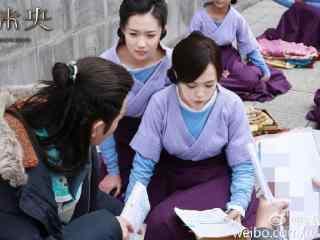 锦绣未央花絮图一群人在对台词桌面壁纸