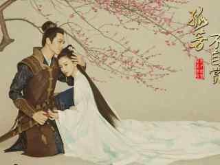 《孤芳不自赏》唯美古风高清桌面壁纸