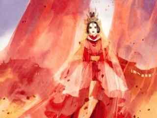 孤芳不自赏漫画版耀天公主唯美图片