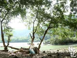 择天记林中休息的徐有容剧照图片