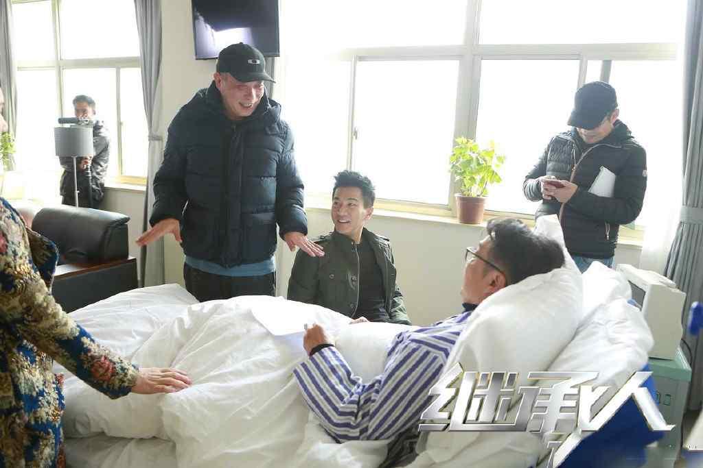 继承人刘恺威拍摄花絮高清大图