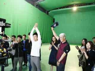 电视剧继承人刘恺威搞笑拍摄图片