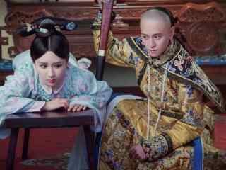 龙珠传奇康熙假装打易欢板子剧照