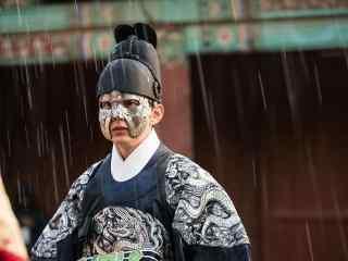 君主假面的主人之雨中的俞承浩