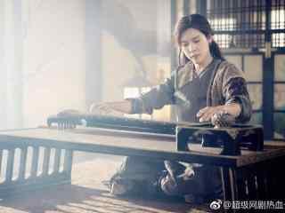 热血长安弹琴的徐海乔桌面壁纸