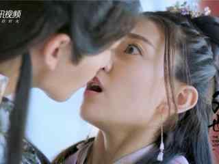 双世宠妃墨连城与曲檀儿亲吻剧照