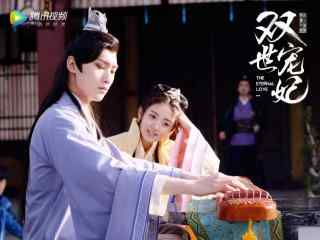 双世宠妃坦诚夫妇王爷弹琴壁纸