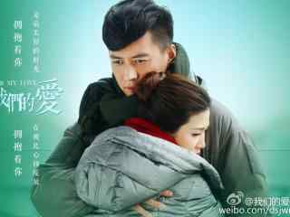 我们的爱靳东与童蕾拥抱壁纸
