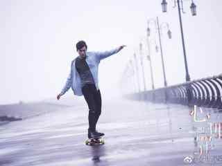 电影心理罪李易峰滑滑板剧照壁纸
