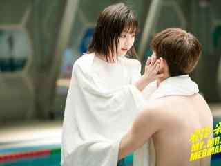 浪花一朵朵白云夫妇泳池边剧照