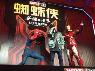 电影蜘蛛侠英雄归来蜘蛛侠与钢铁侠