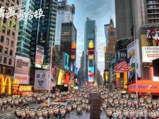 电影情遇曼哈顿创意海报壁纸