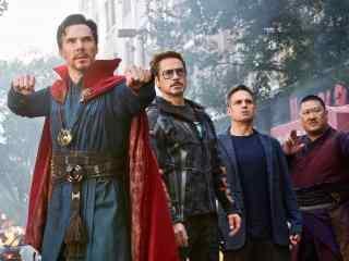 《复仇者联盟3:无限战争》博士组四人高清桌面壁纸