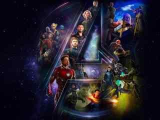 《复仇者联盟3:无限战争》高清A型壁纸图片