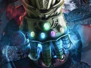 电影《复仇者联盟3》无限手套完全版剧照图片