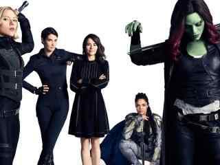 《复仇者联盟3:无限战争》女性英雄版桌面高清壁纸