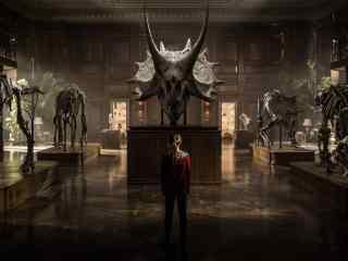 侏罗纪世界2恐龙头骨展览馆剧照