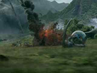 侏罗纪世界2火山爆发逃跑剧照