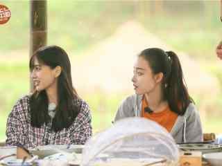 向往的生活倪妮杨颖两大美女剧照图片