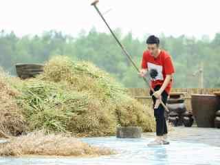 向往的生活第二季于和伟做农活剧照图片