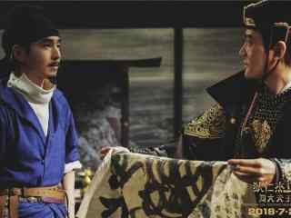 《狄仁杰之四大天王》赵又廷遇见冯绍峰剧照图片