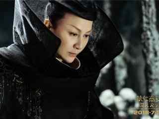 《狄仁杰之四大天王》刘嘉玲黑袍神秘造型剧照图片