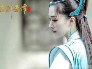 电视剧《古剑奇谭2》张雯饰逸清师姐唯美剧照图片