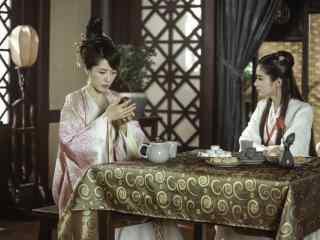《古剑奇谭2》闻人羽和乐无异养母傅清姣剧照图片