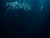 电影巨齿鲨巨型深海科考船剧照