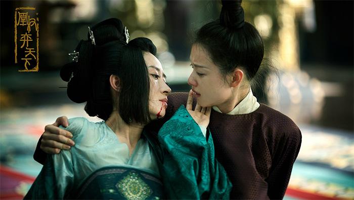 《天盛长歌》凤知微母女分别剧照图片