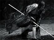 張藝謀(mou)《影》鄧超竹竿行高清(qing)水墨畫唯美(mei)劇(ju)照圖片