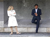 《碟中谍6:全面瓦解》阿汤哥与丽贝卡同台高清剧照图片
