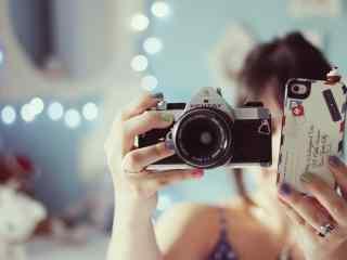 精致相机摄影壁纸
