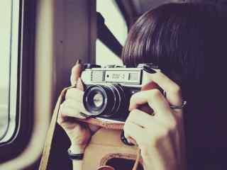唯美相机拍摄瞬间