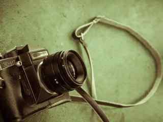 单反相机前苏联泽尼特3EHNT机械相机桌面壁纸