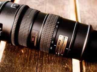 单反相机尼康70-200长焦镜头桌面壁纸