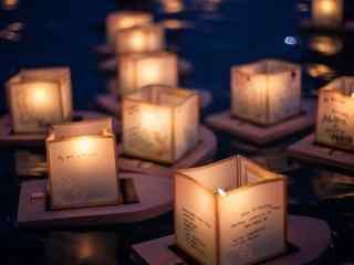 唯美梦幻意境蜡烛