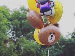 唯美可爱气球高清