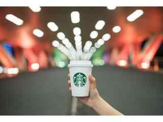 星巴克经典杯子创意美拍高清图片桌面壁纸