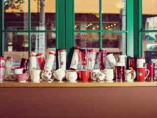 星巴克圣诞杯集合图片桌面壁纸