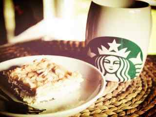 星巴克下午茶甜品美食图片桌面壁纸