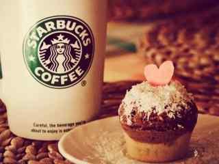 星巴克可爱甜点图片高清桌面壁纸