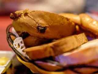美味烤面包图片高清桌面壁纸