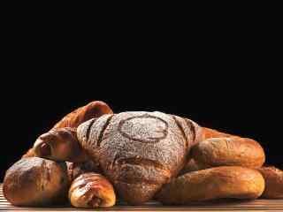 花式烤面包图片高清美食壁纸