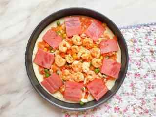 创意自制美味披萨图片高清桌面壁纸