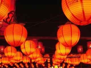 元宵节正月十五花灯会图片桌面壁纸